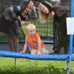 trambolin für kinder