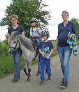 ponyreiten kinder