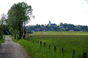 landschaft in tondorf